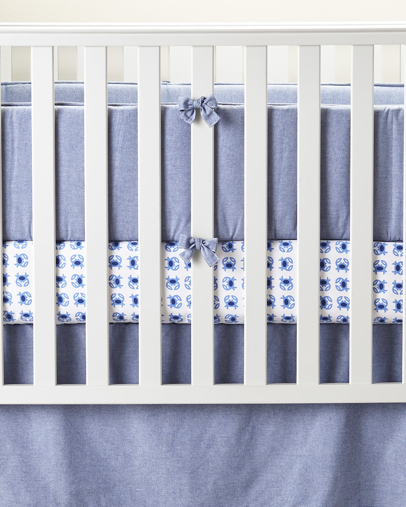 Color Block Crib Bumper