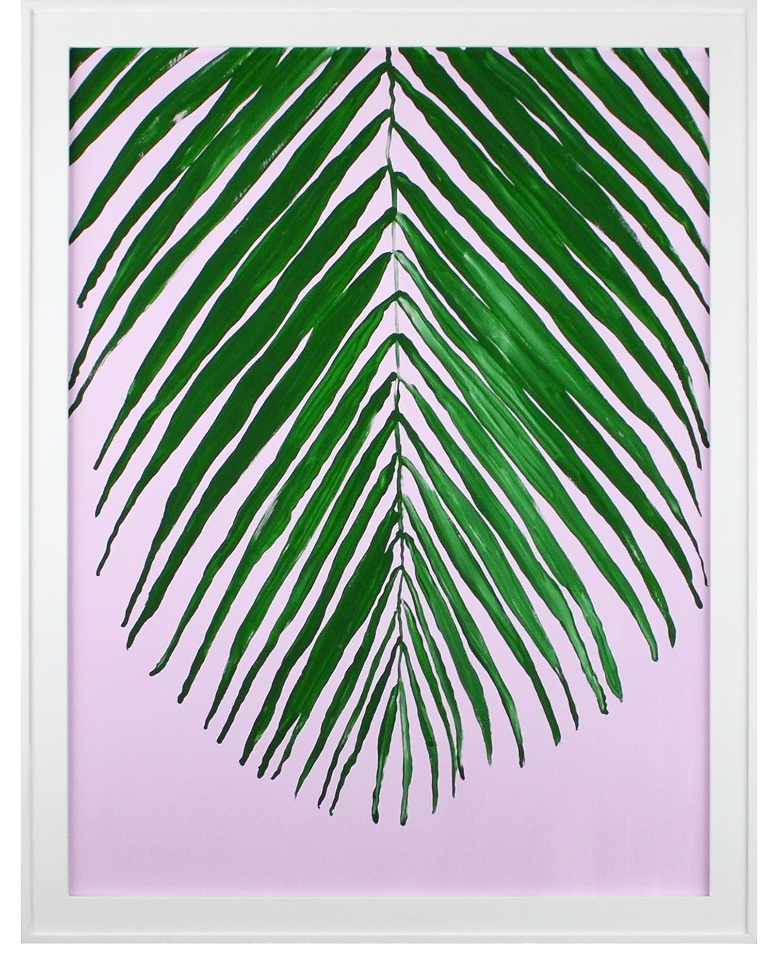Pink and Palm by Bridgette Thornton