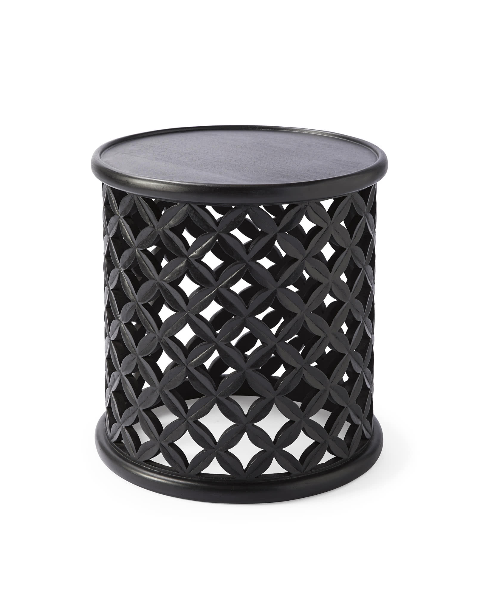 Bamileke Side Table - Ebony