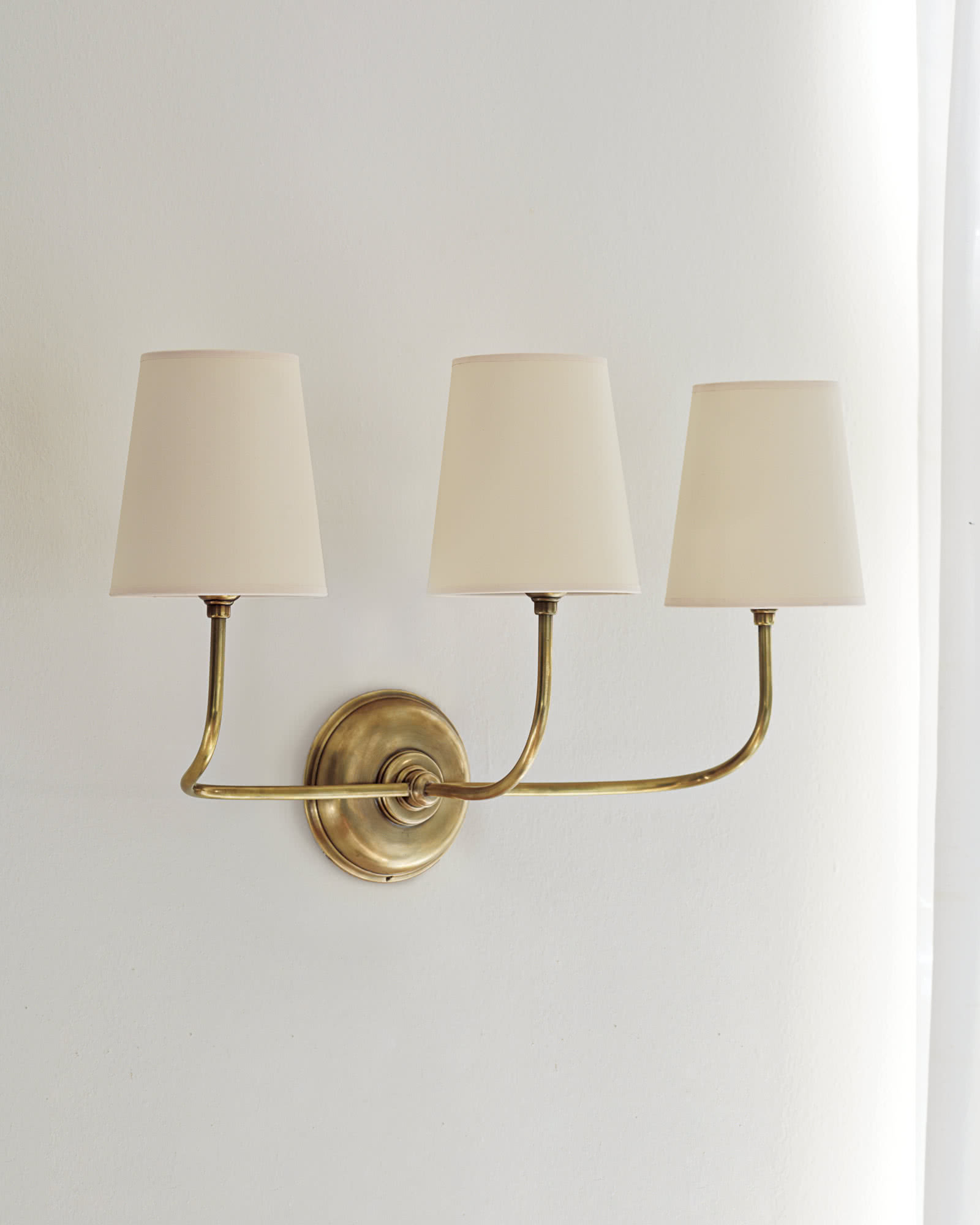 Everett Three-Arm Sconce