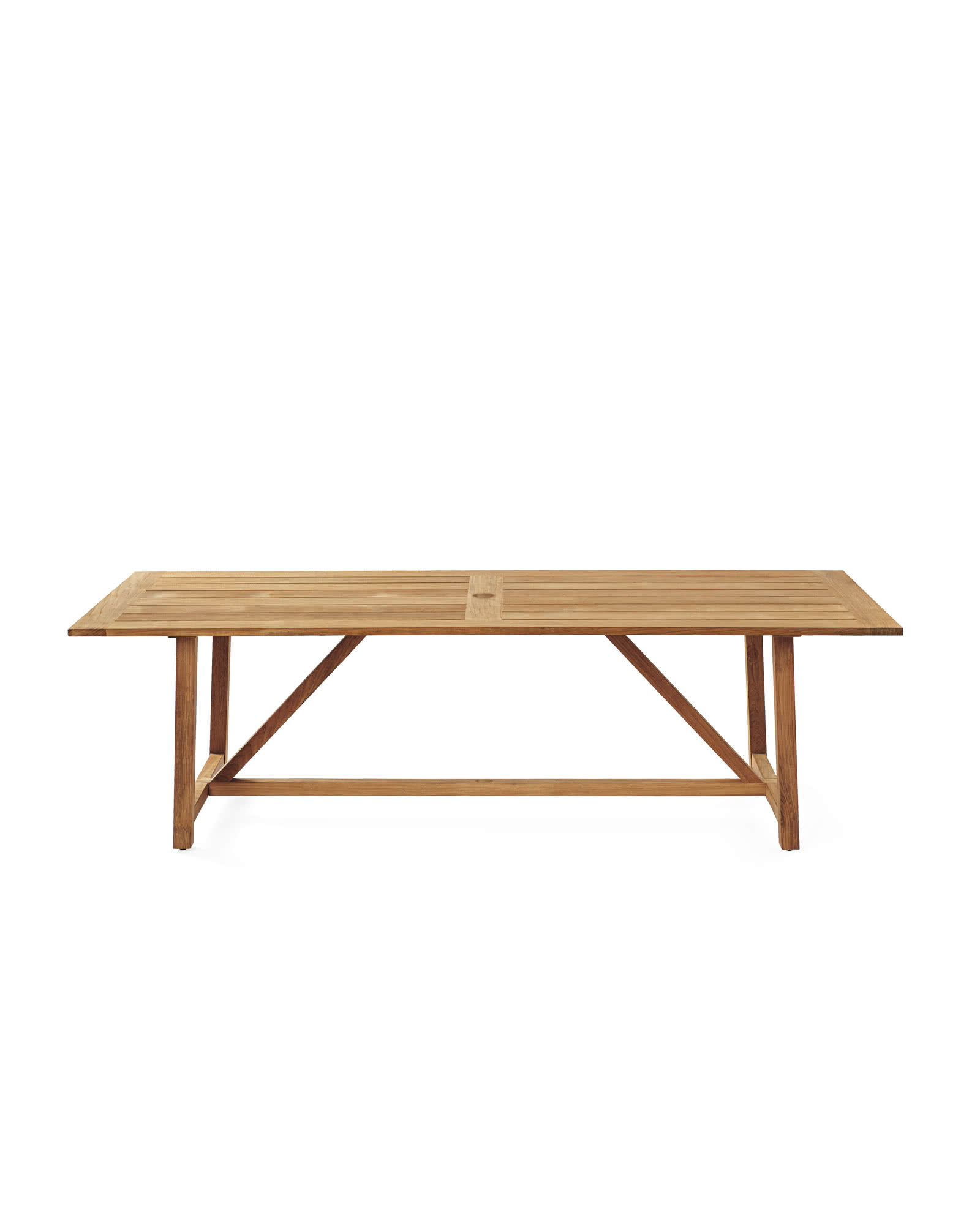 Crosby Teak Outdoor Dining Table