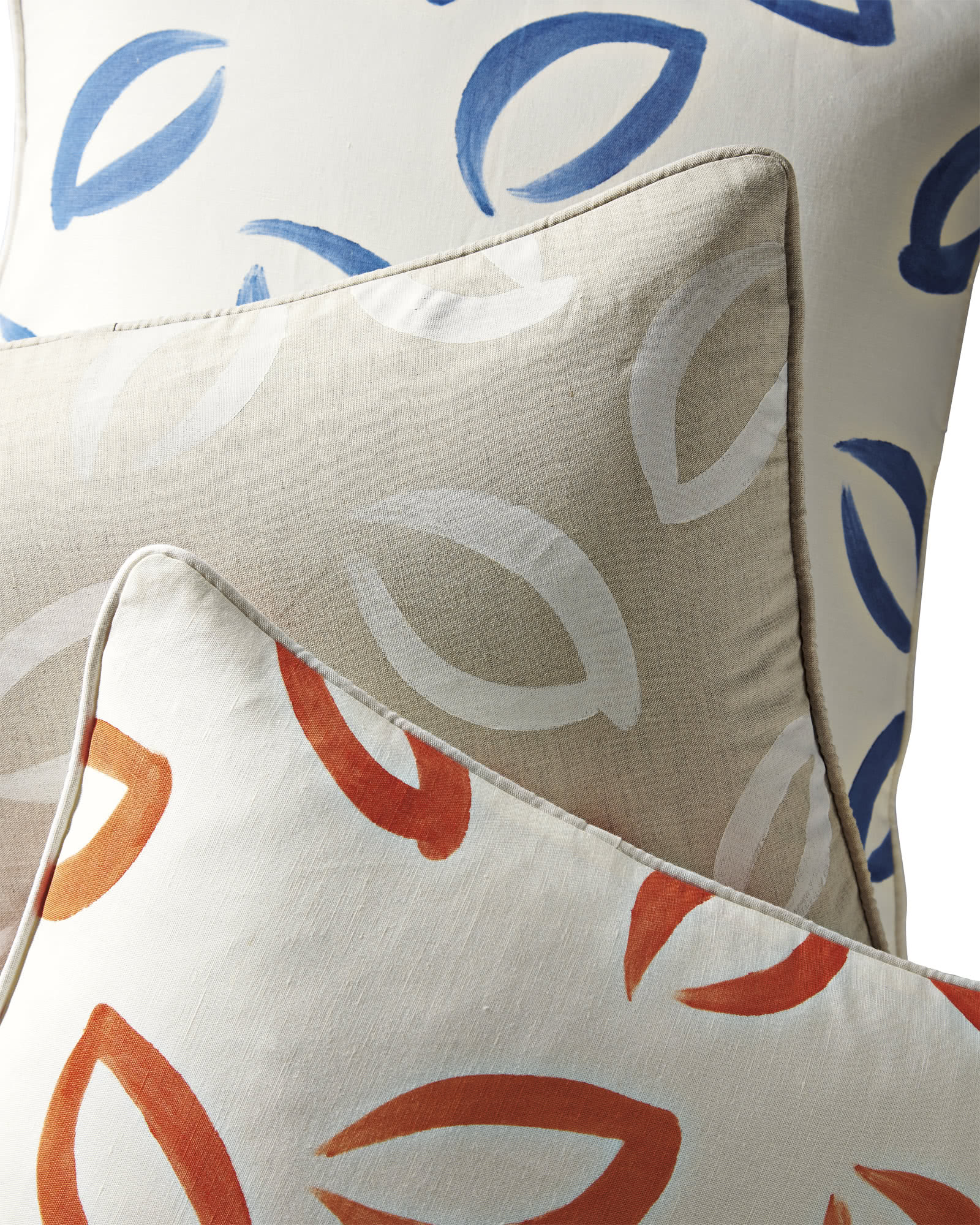 Aspen Handpainted Pillow Cover