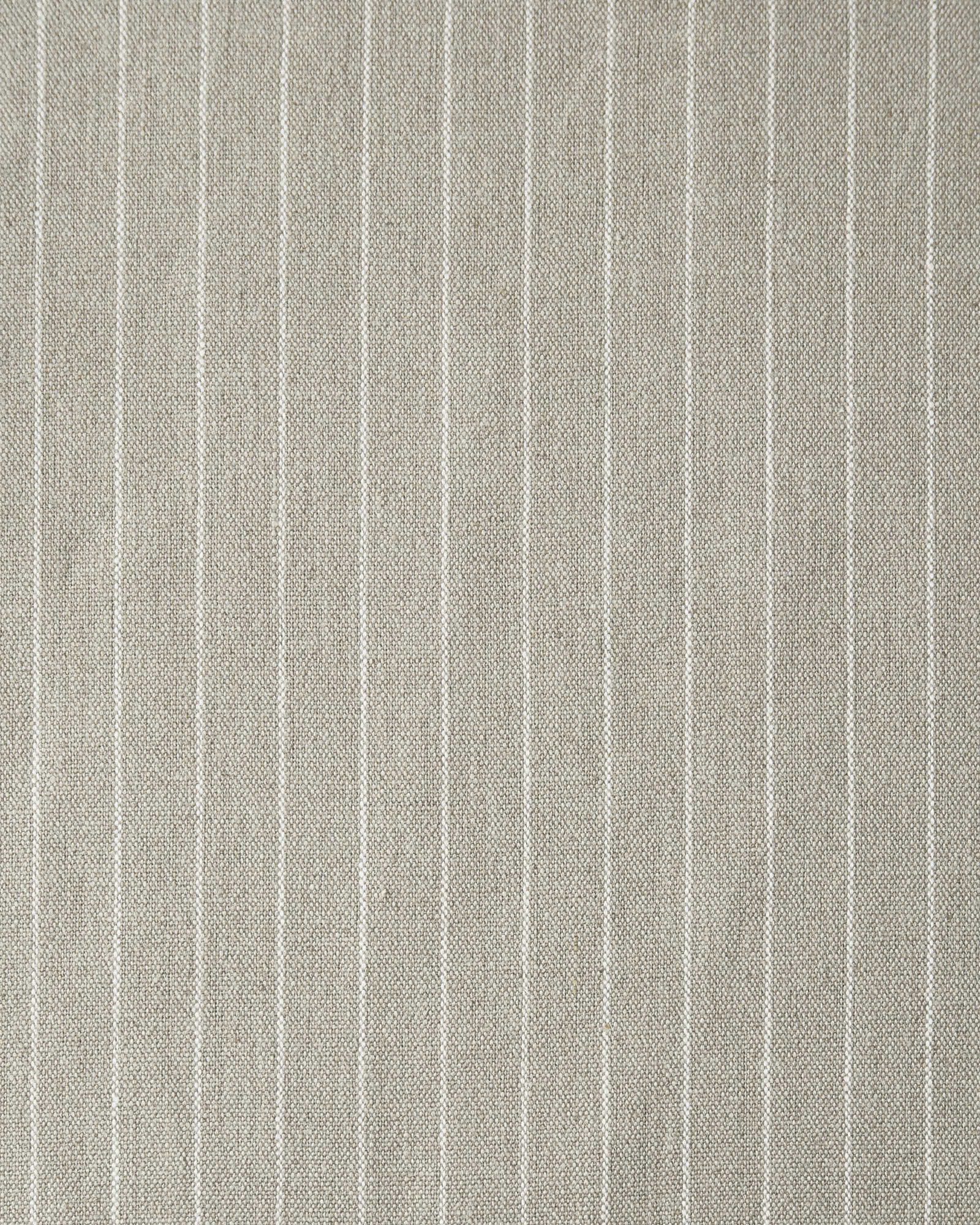 Pencil Stripe Linen Fabric Swatch