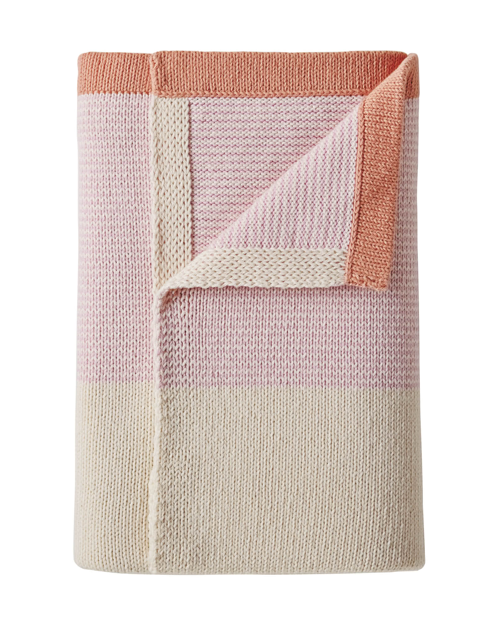 Sweater Knit Baby Blanket
