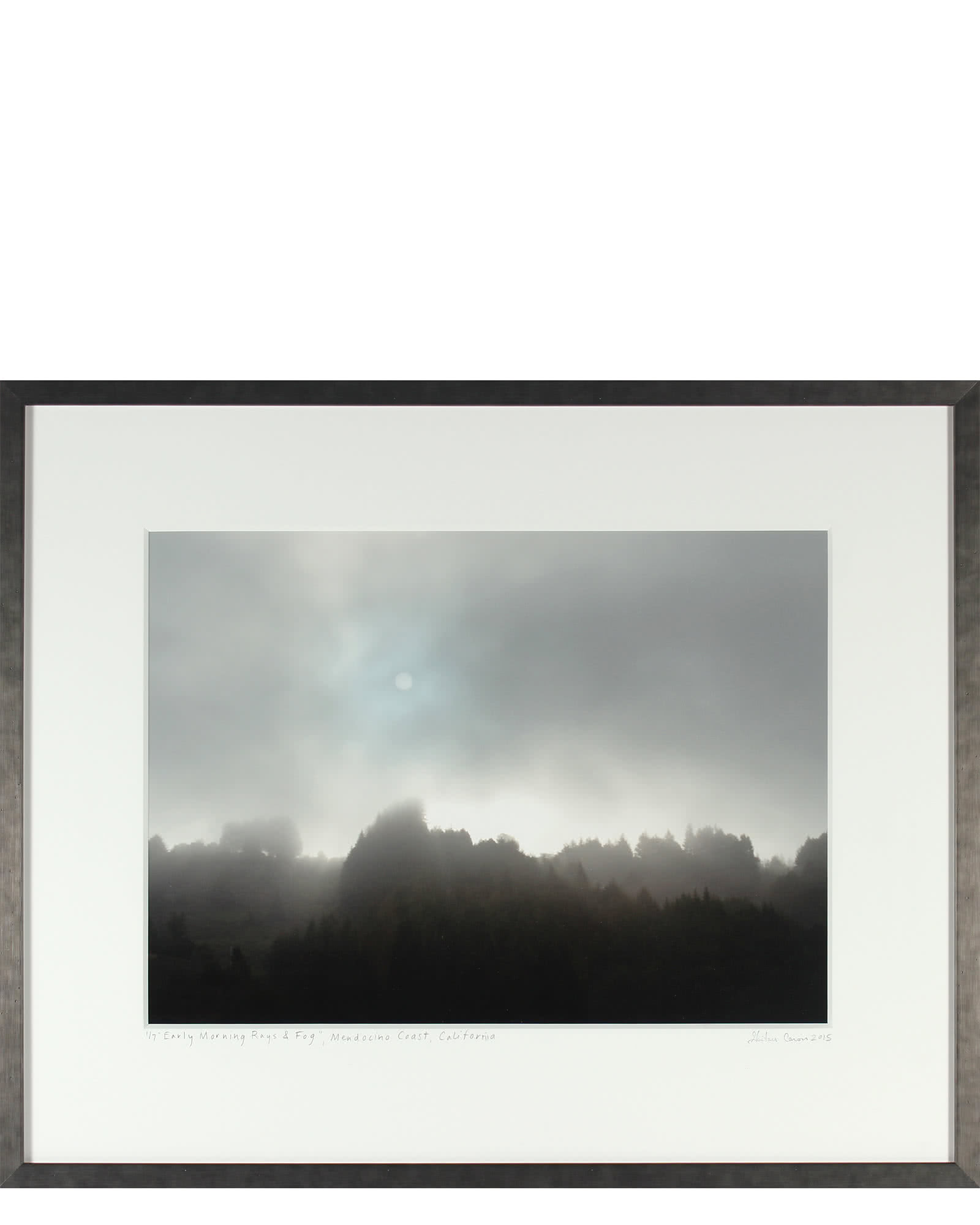 """Early Morning Sun & Fog"" by Gaetan Caron"