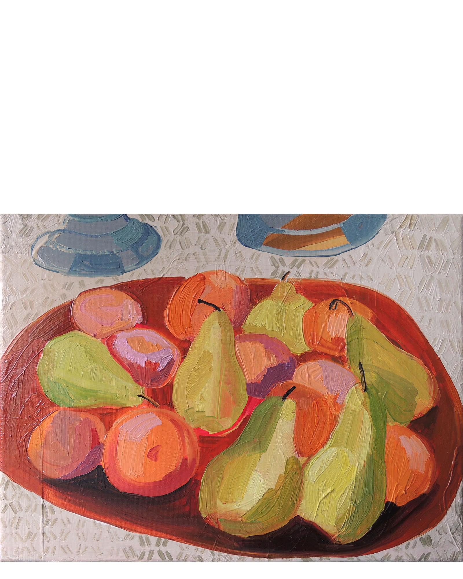 """""""Pears and Oranges"""" by Claire Elliott"""