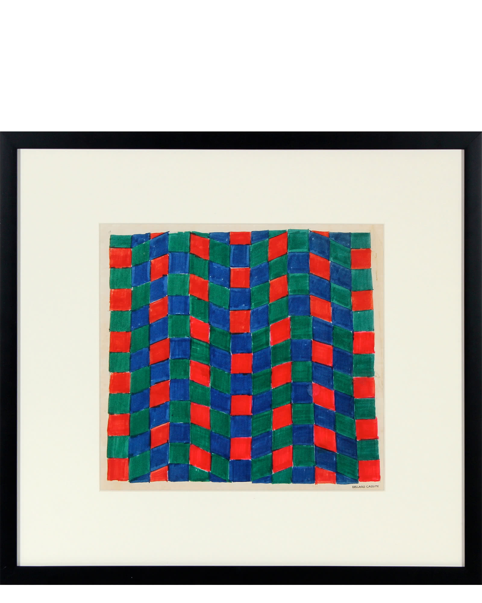 """""""Red, Green, & Blue Optical Abstract Study"""" by Dellard Cassity"""
