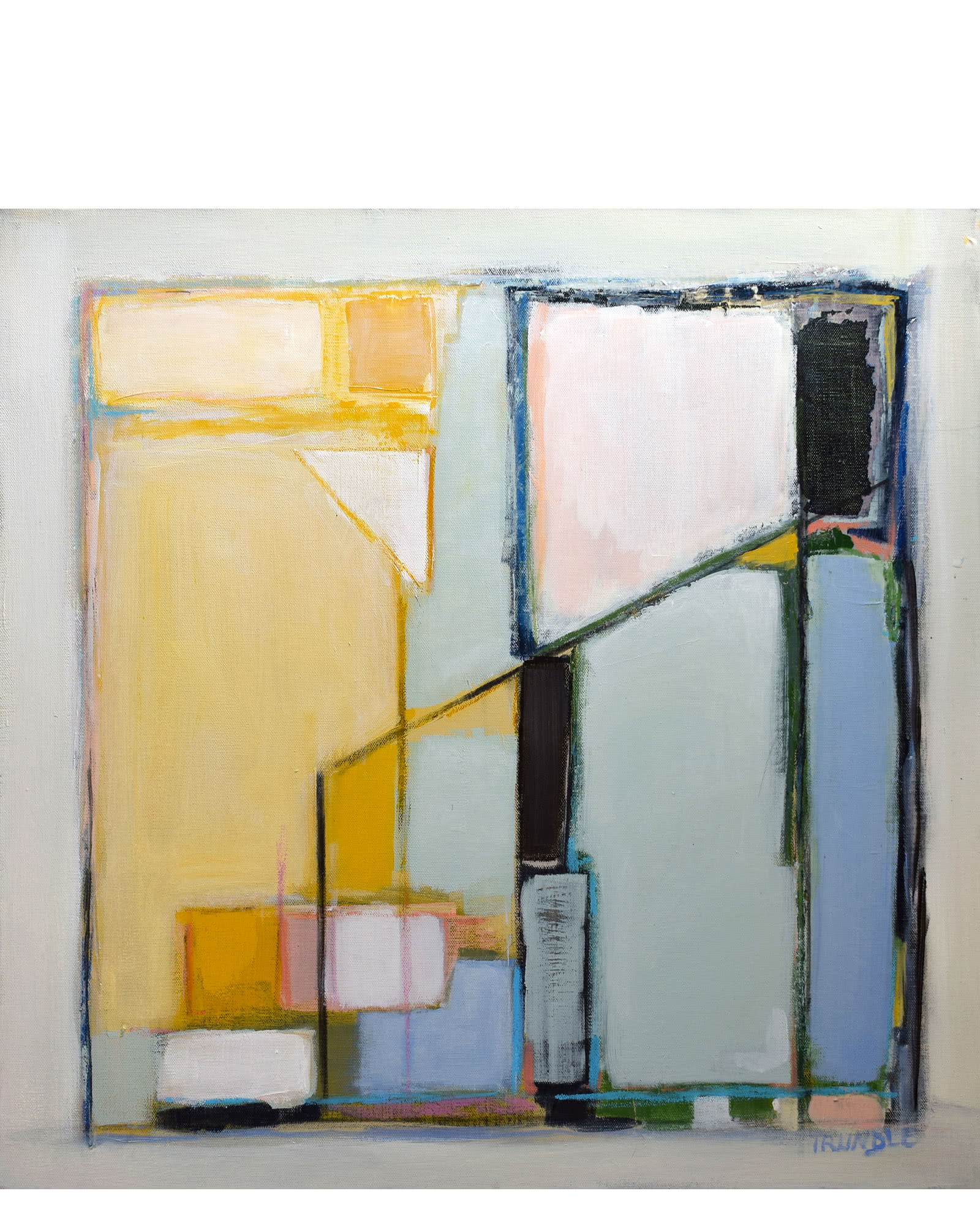 """Abstract with Yellow"" by Sarah Trundle"