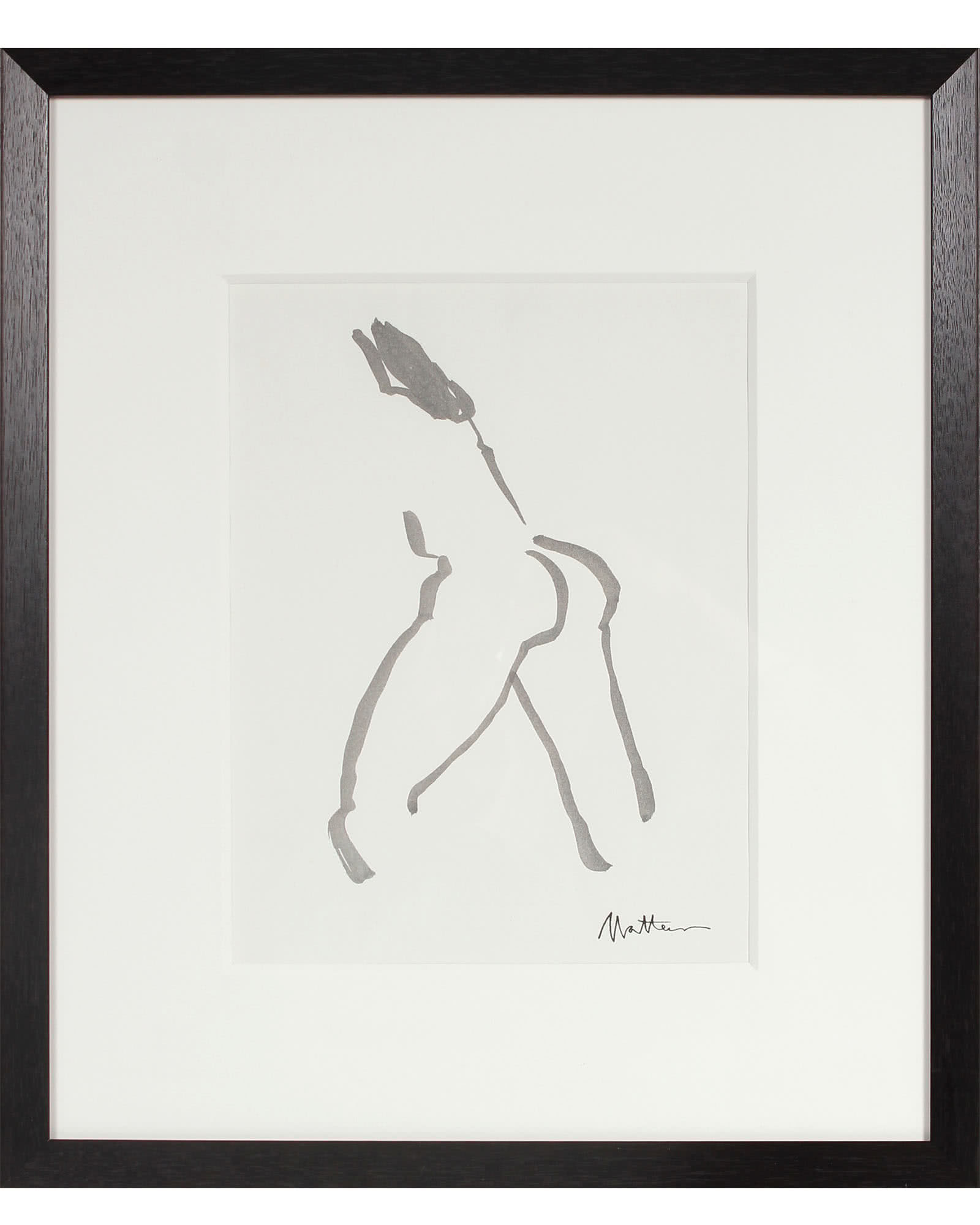 Brushstroke Nude by Rip Matteson