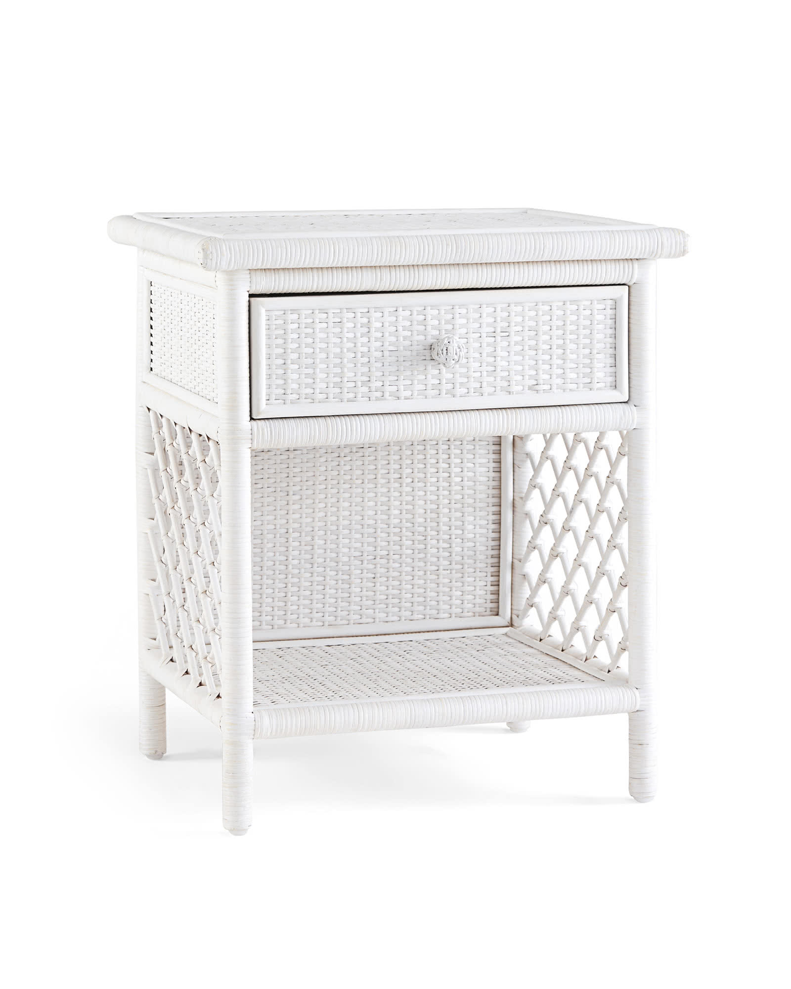 Marley Side Table - Whitewashed