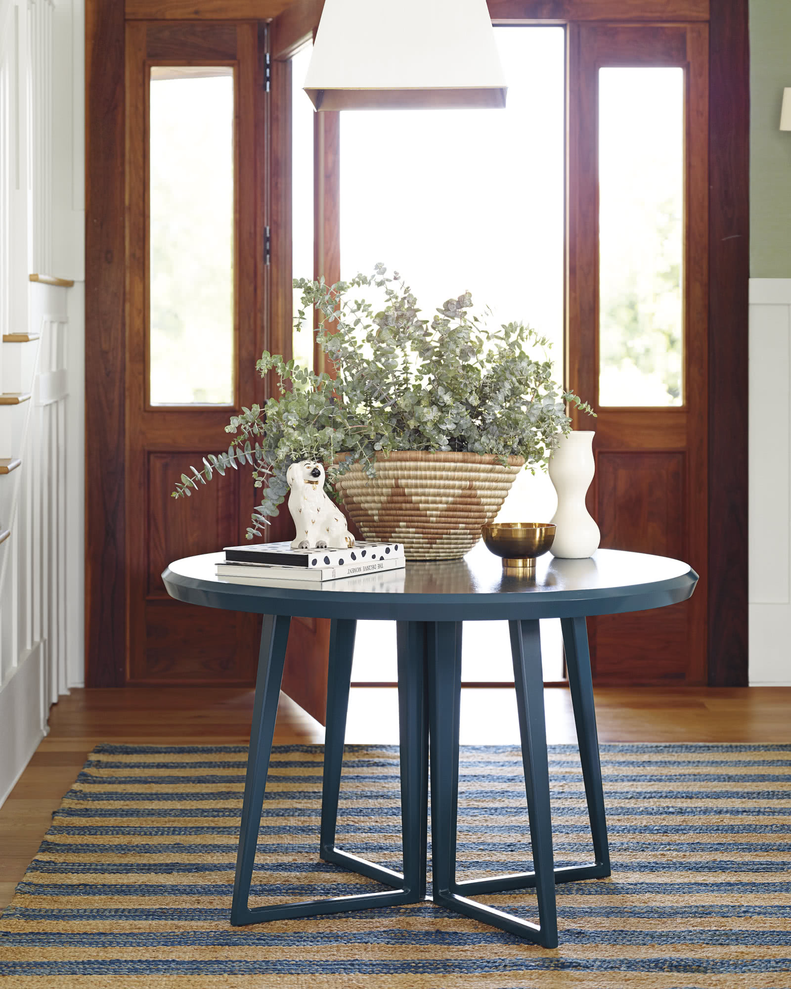 Serena Lily Love The Burlap Look Of The: Downing Dining Table