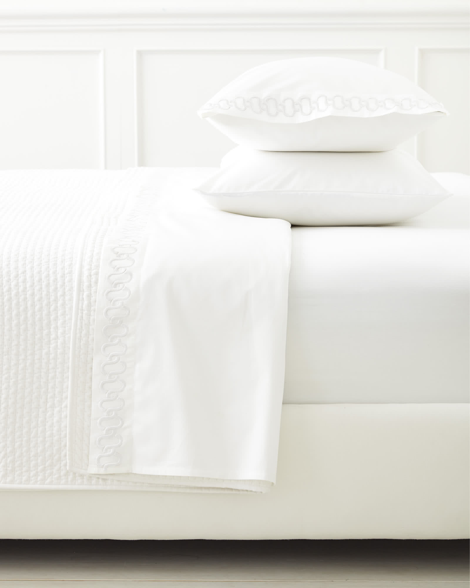 Savoy Links Embroidered Sheet Set