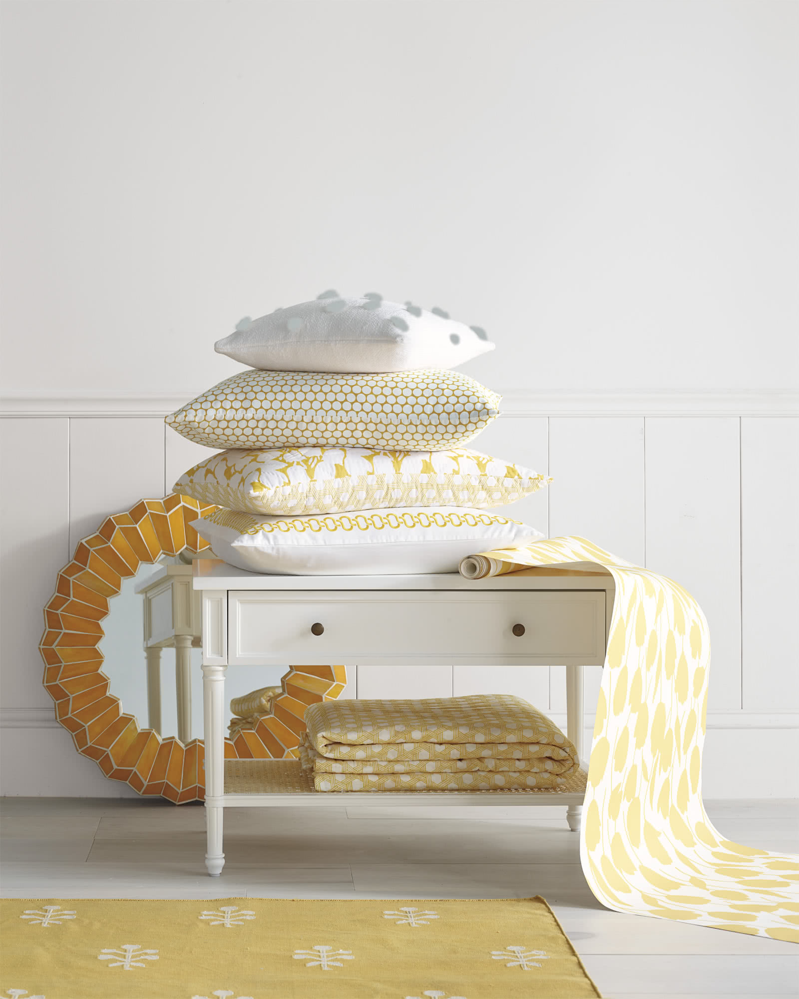 Harbour Cane Nightstand