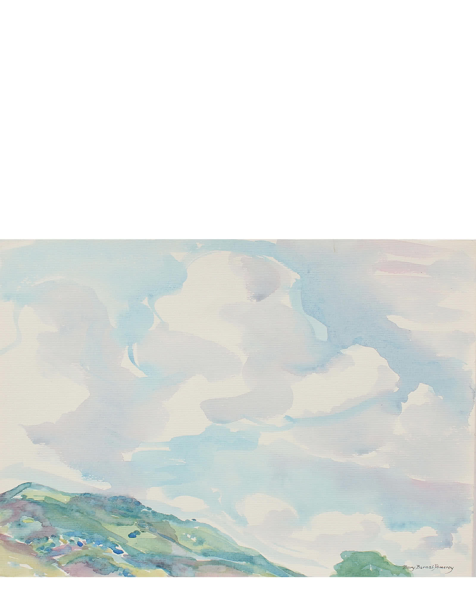 """""""Morning Clouds"""" by Mary Pomeroy"""