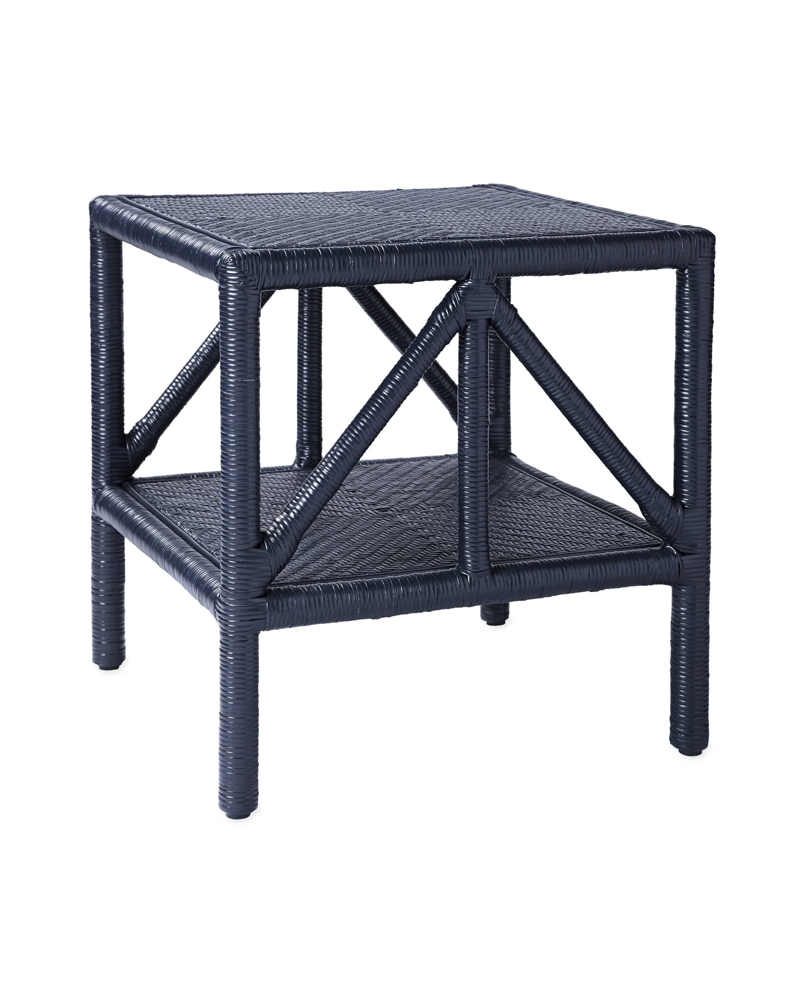 Trestle Side Table