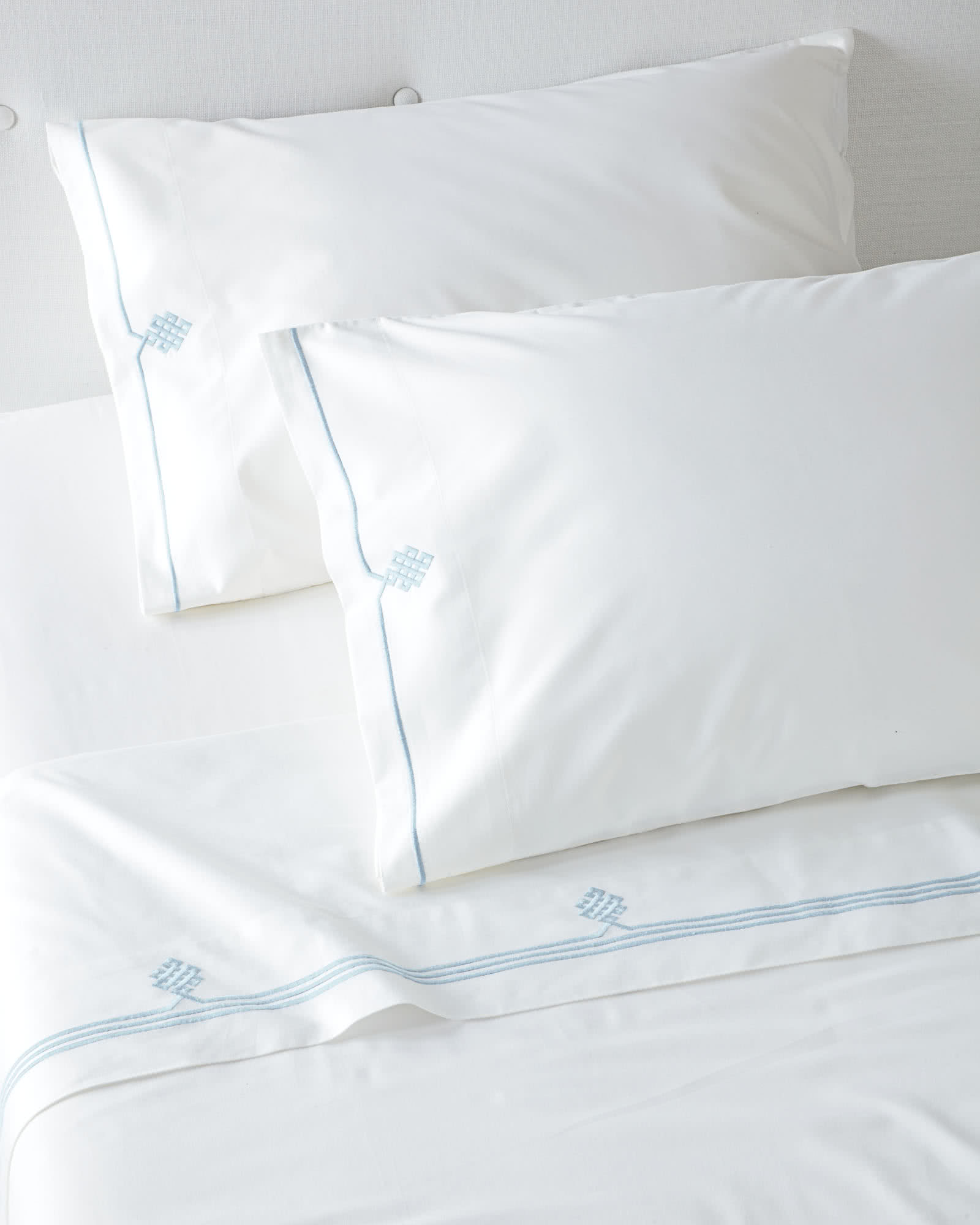 Gobi Embroidered Sheet Set