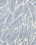 Fallbrook Wallpaper Swatch, Blue