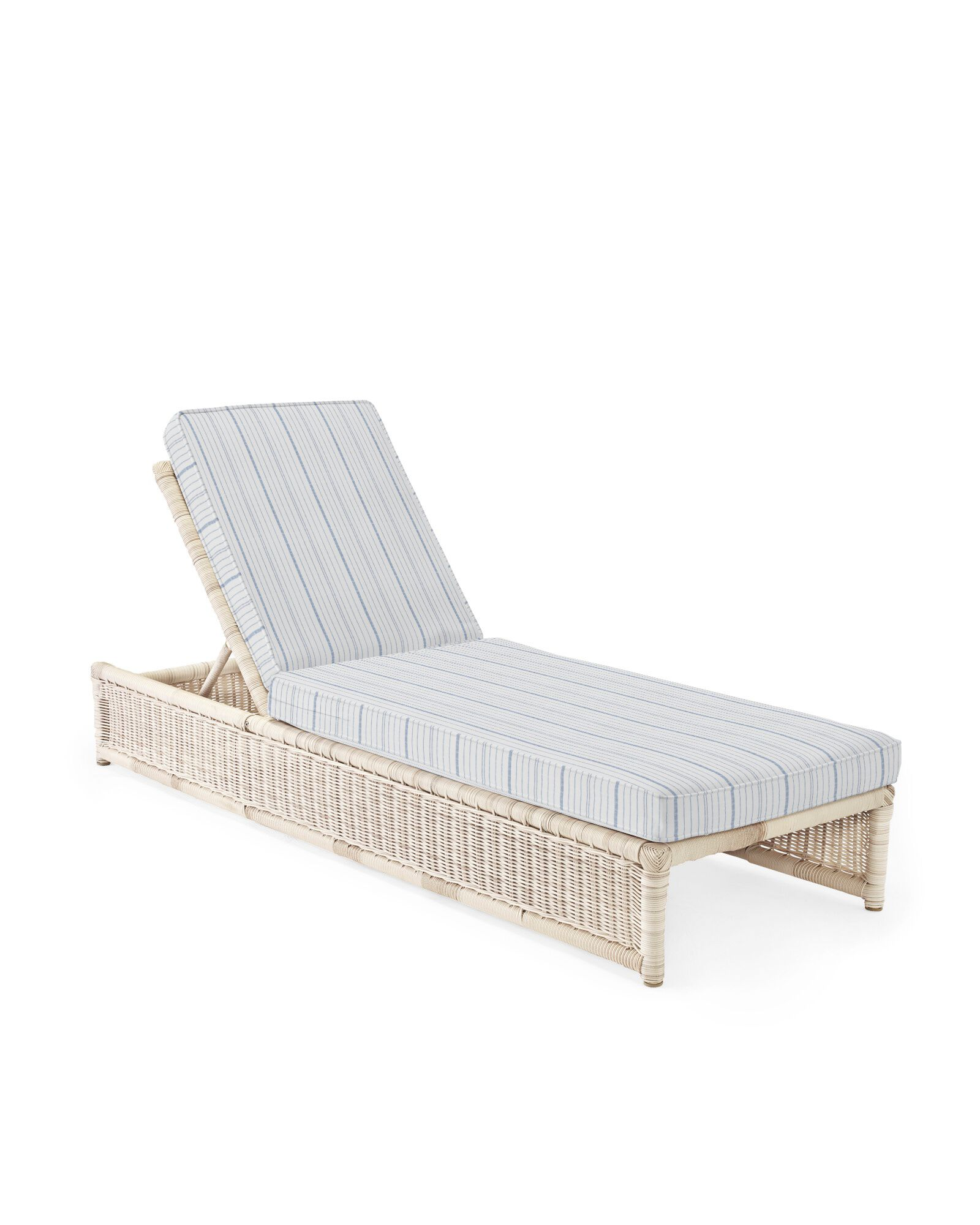 Cushion Cover for Pacifica Chaise, Surf Stripe Navy
