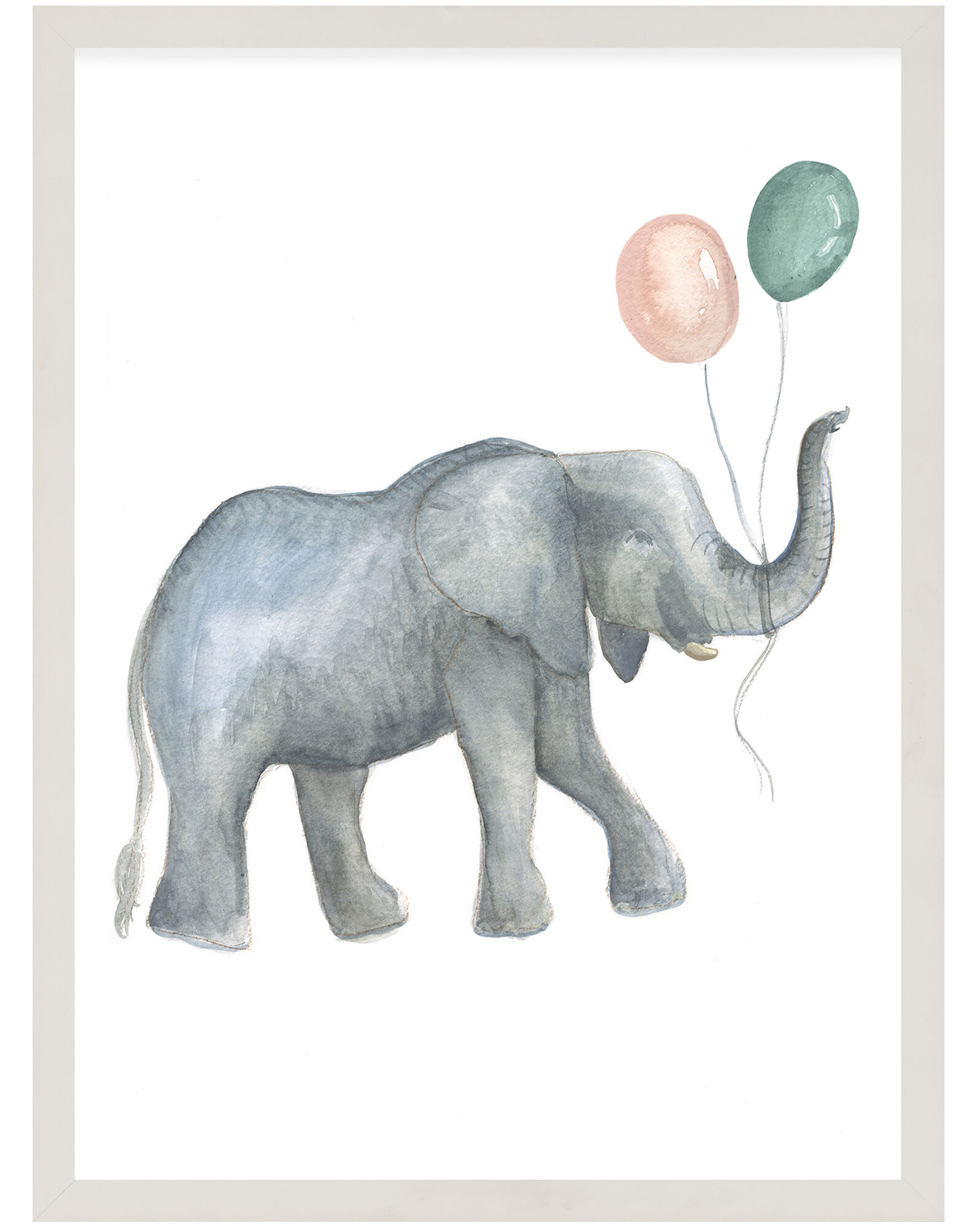 """""""Party Animals - Elephant"""" by Fours Are Yellow,"""