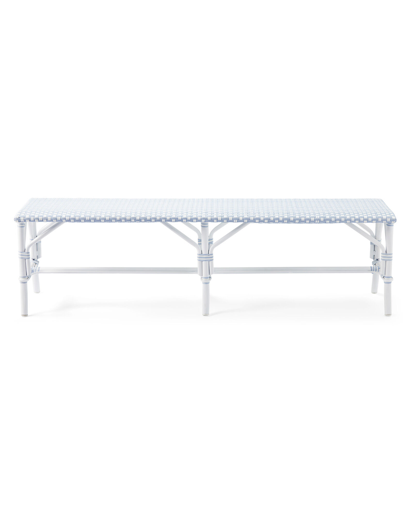 Outdoor Riviera Backless Bench,