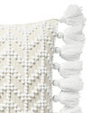 West Beach Pillow Cover, White