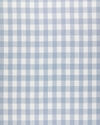 Fabric by the Yard - Classic Gingham Linen, Coastal Blue