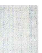 Rapallo Rug Swatch, Heathered Azure