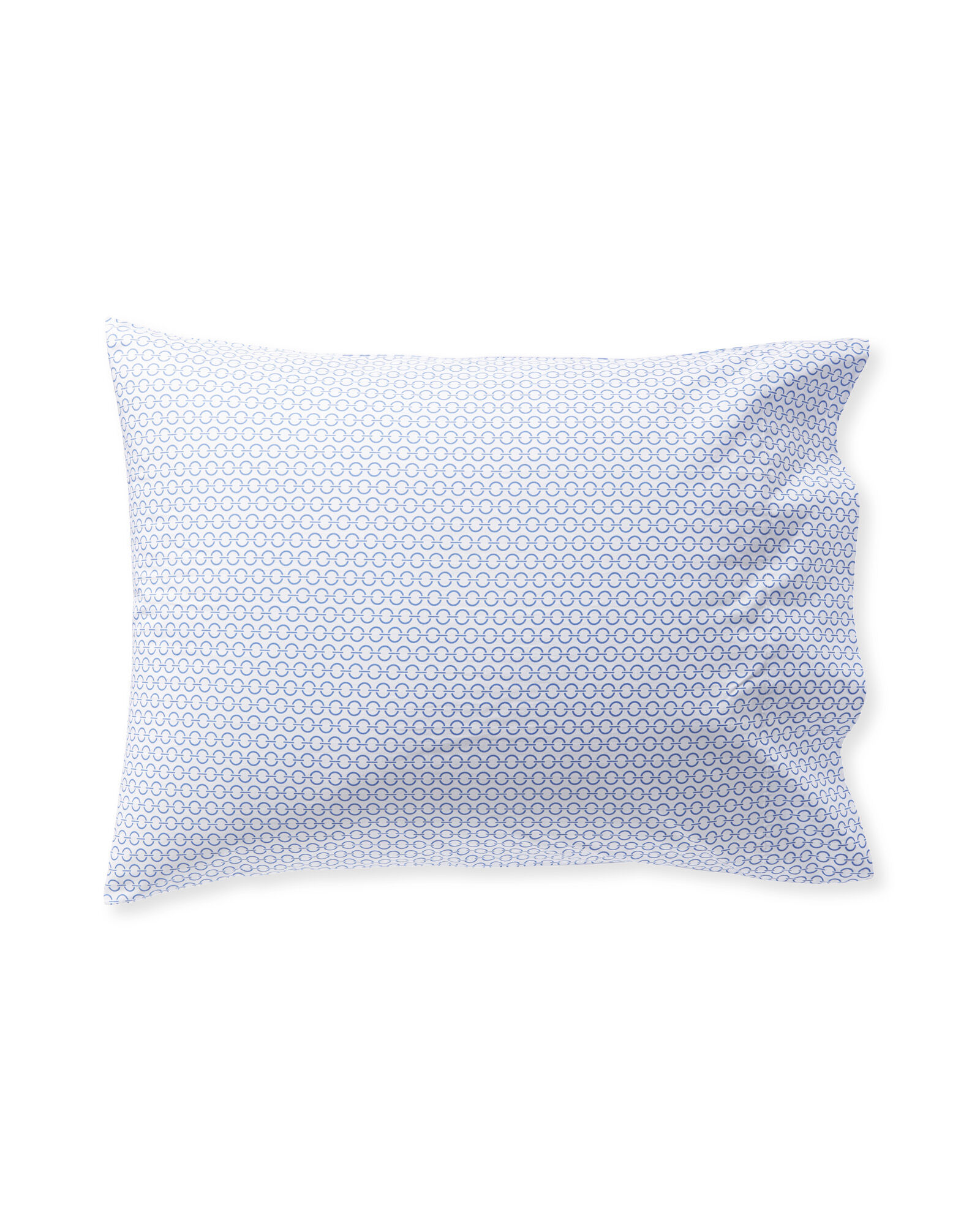 Classic Ring Pillowcases (Set of 2), French Blue