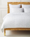 Isla Quilt, French Blue