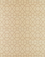 Trellis Wallpaper Swatch, Sand