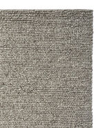 Braided Wool Rug Swatch, Heathered Grey