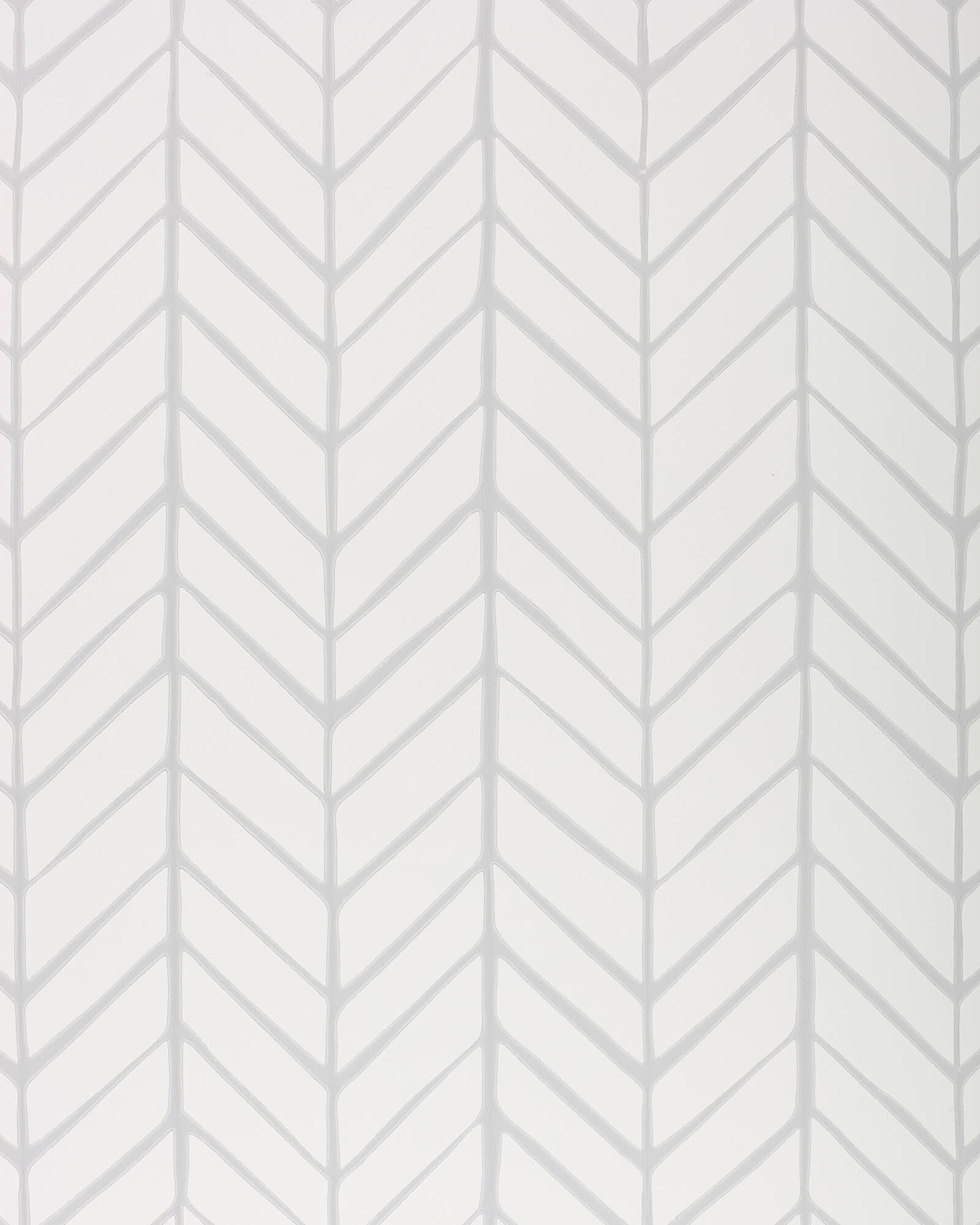 Feather Wallpaper Swatch, Fog
