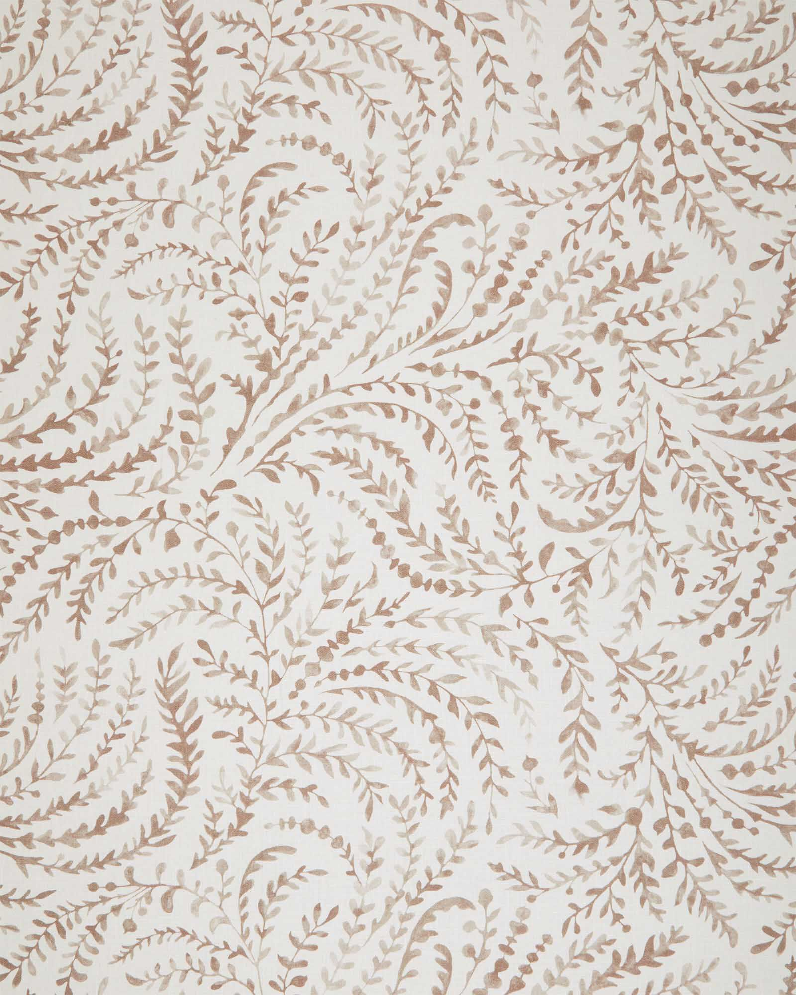 Fabric by the Yard - Priano Linen, Mink
