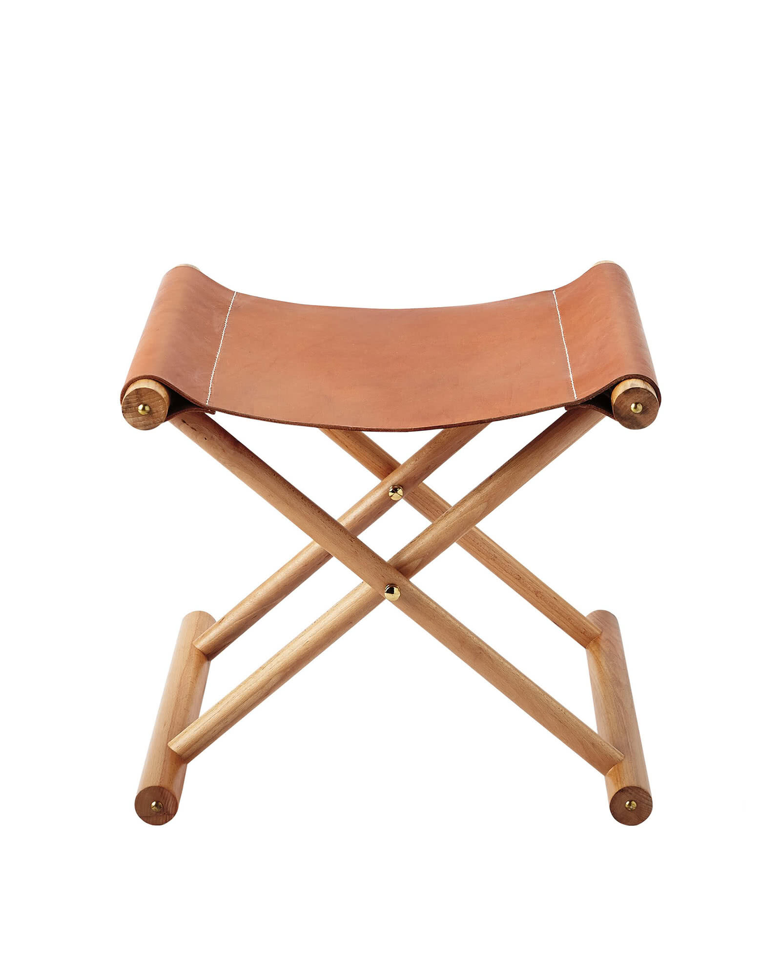 Cooper Leather Stool