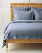 Vermont Coverlet, Coastal Blue