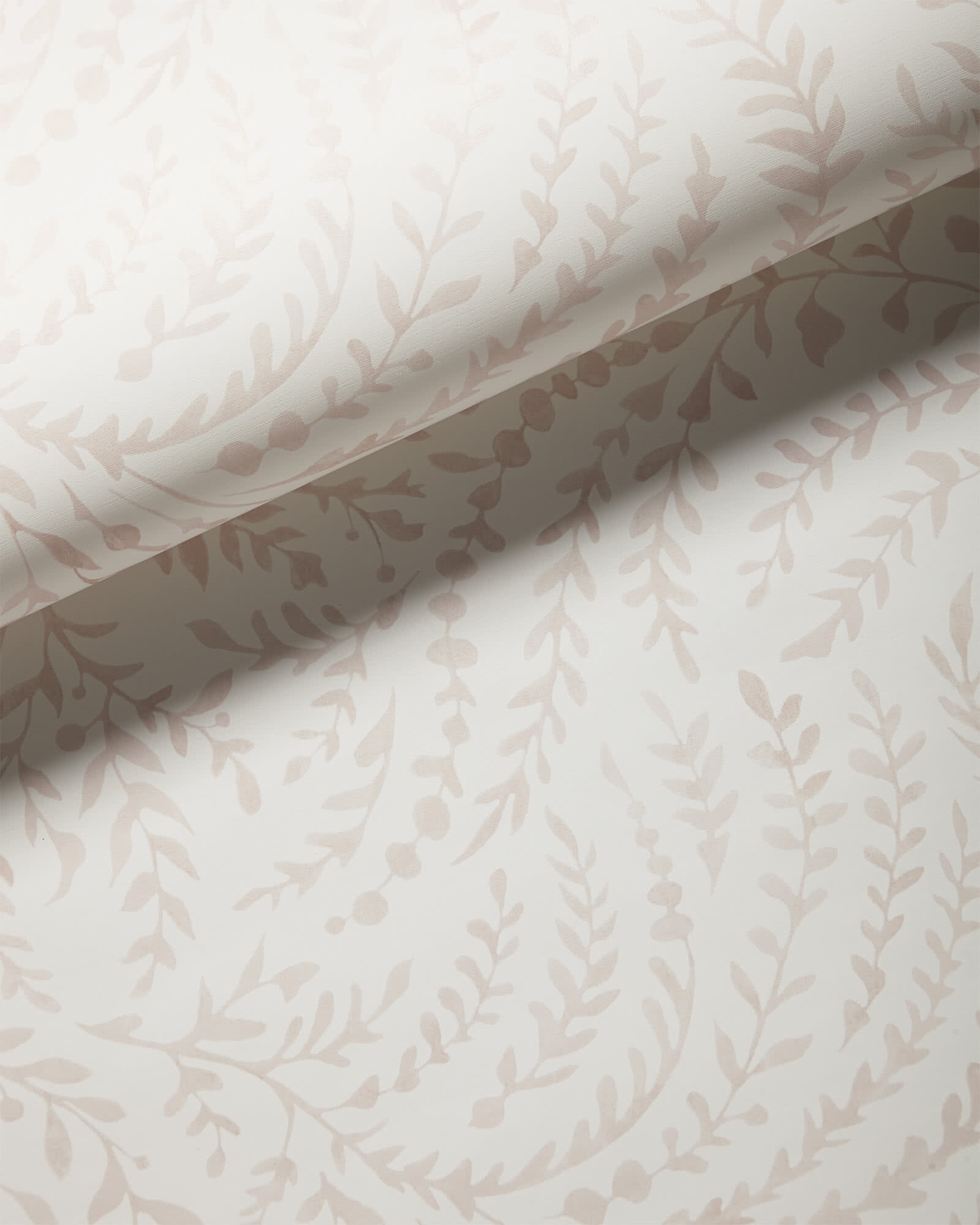 Priano Wallpaper, Pink Sand