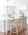 Sunwashed Riviera Counter Stool, Mist