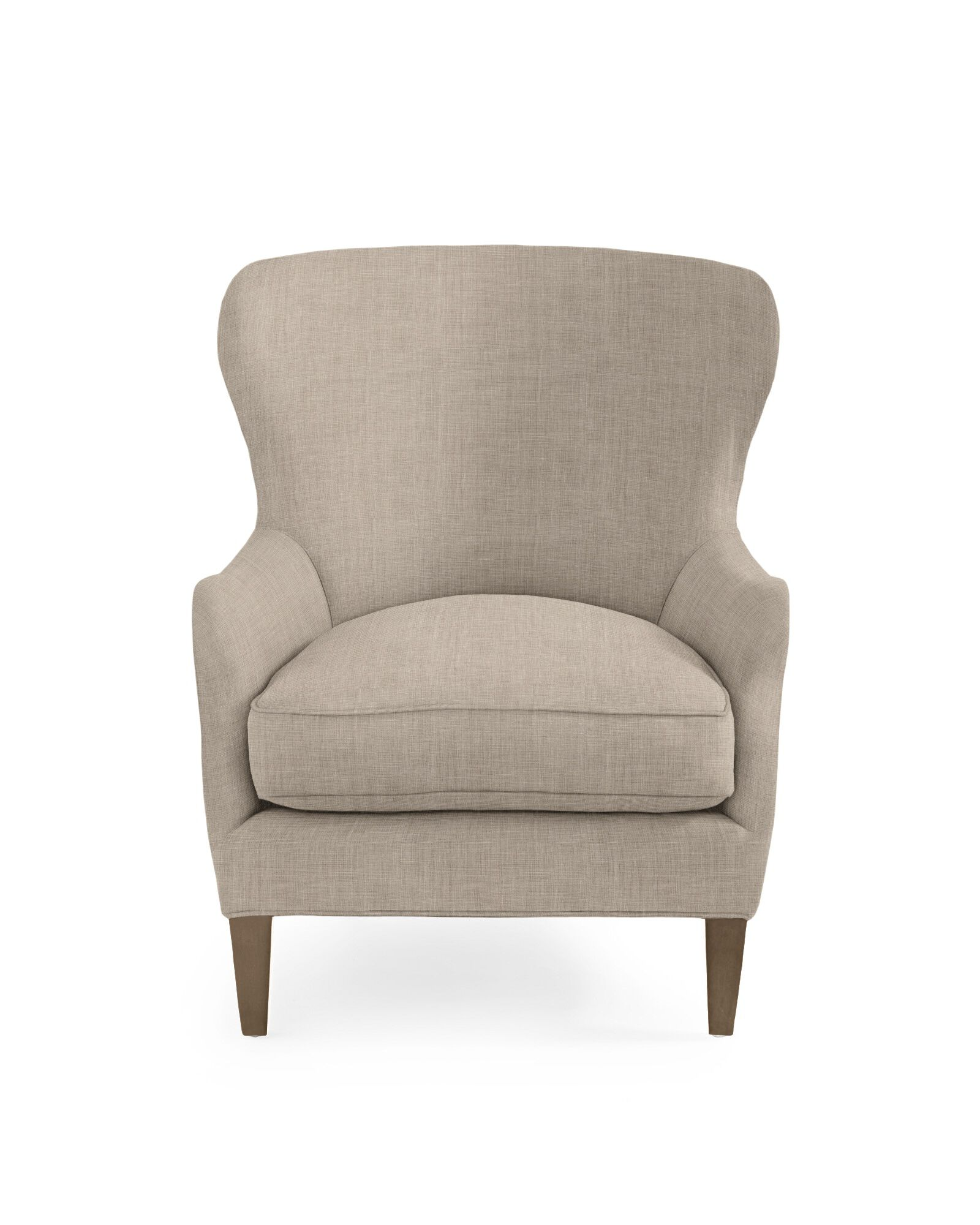 Thompson Wing Chair - Twine Washed Linen