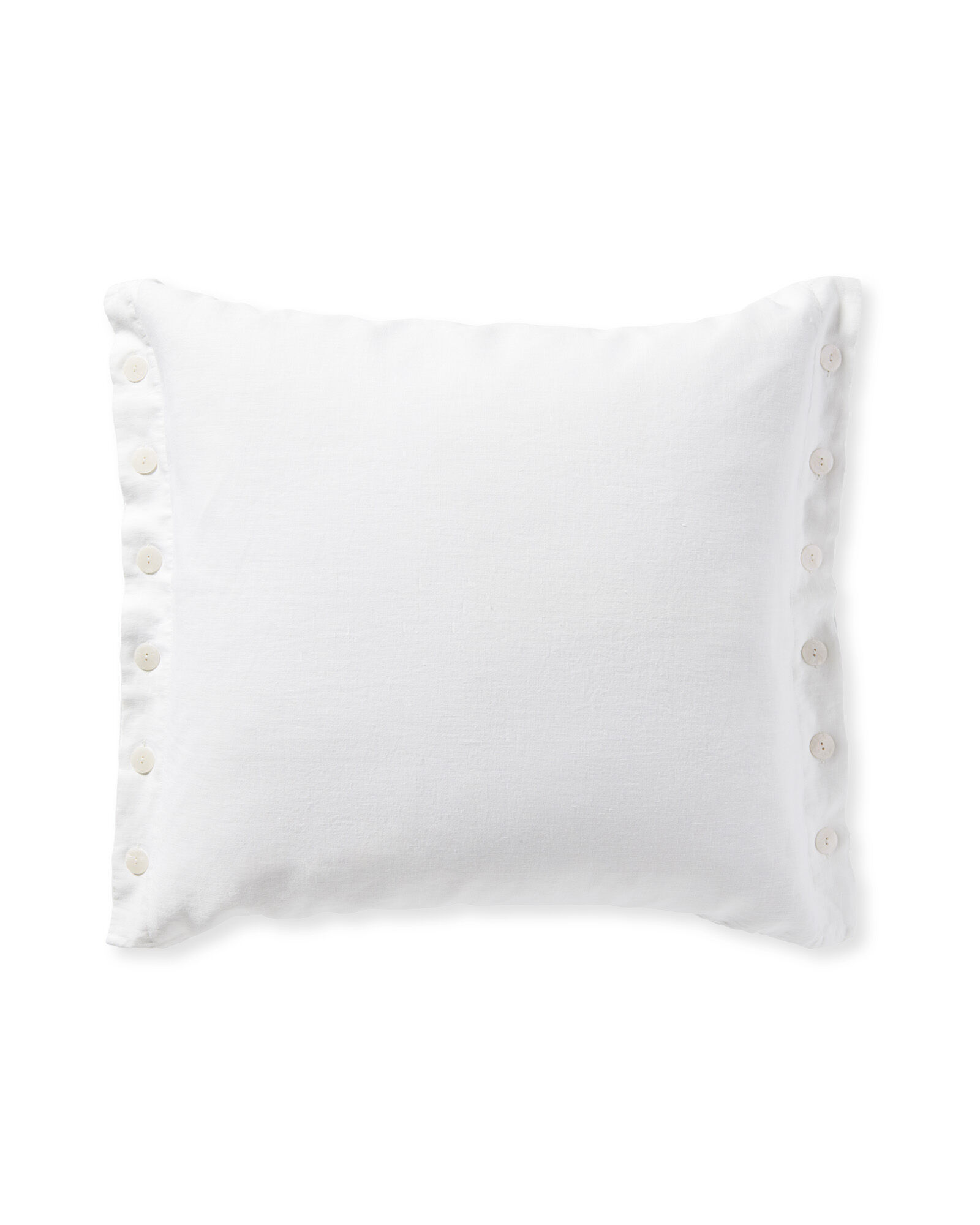 Boothbay Pillow Cover, White