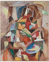 """""""Colorful Cubist Abstraction"""" by Gerald Wasserman,"""