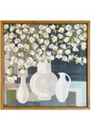 """""""White Vessels 1"""" by Theresa Losa,"""