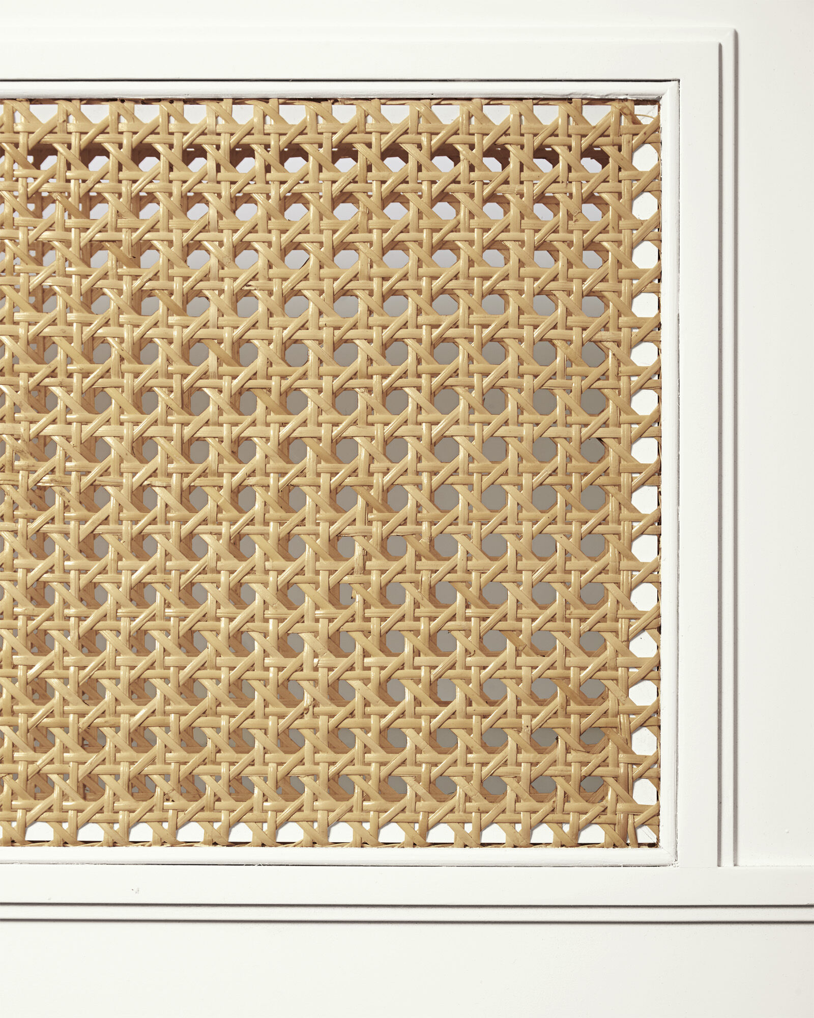 Harbour Cane Furniture Swatch, White
