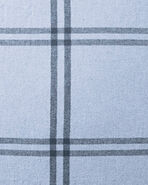 Alpine Flannel Bedding Swatch, Chambray/Indigo