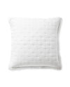 Sutter Quilted Shams, White