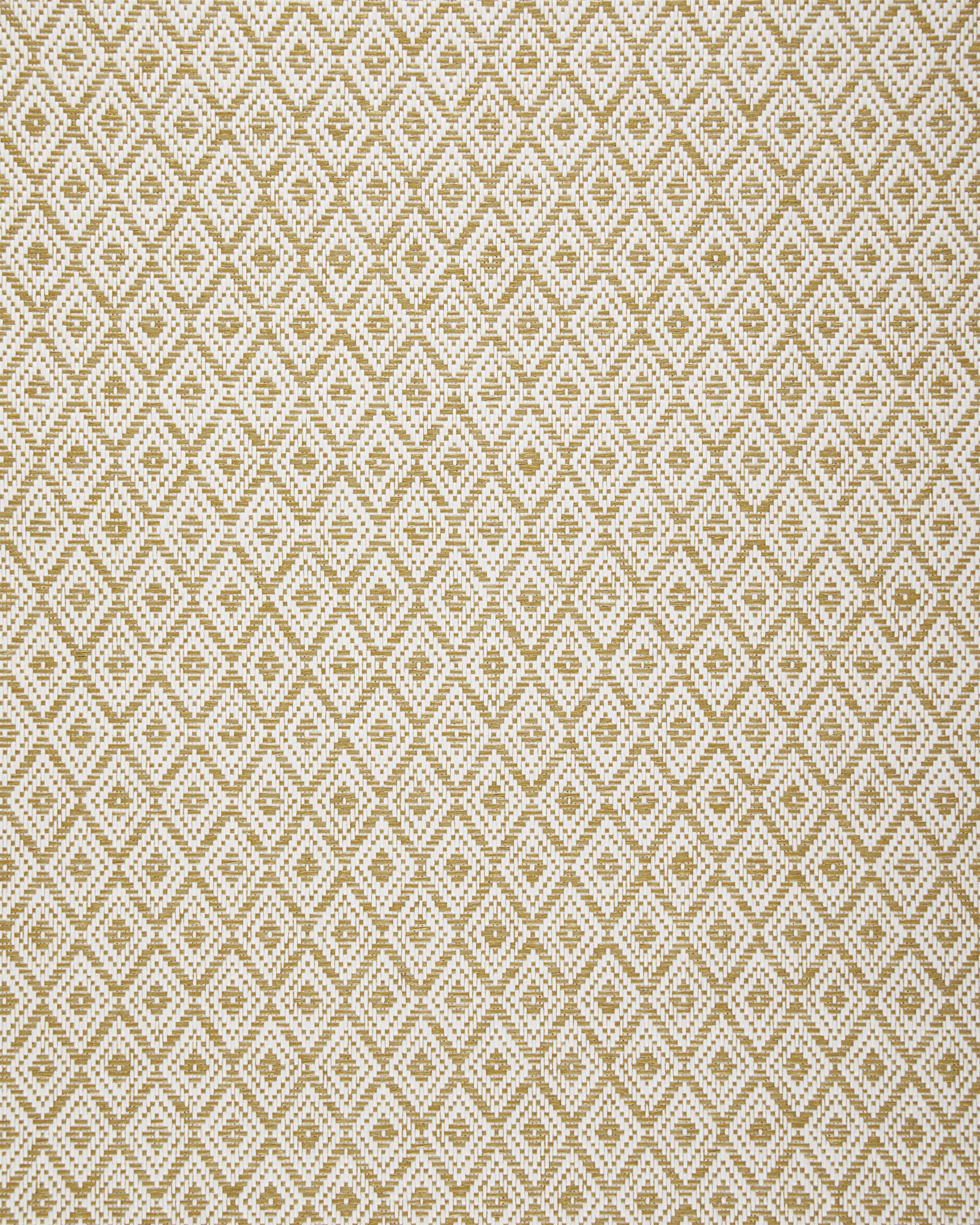 Martinique Wallpaper Swatch, Natural/White