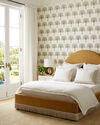 Buchanan Fringed Bed - Gold Washed Linen,