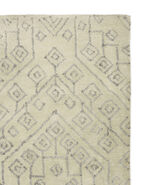 Plymouth Rug Swatch, Ivory