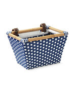 Riviera Bike Basket, Navy