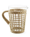 Cayman Seagrass-Wrapped Pitcher,