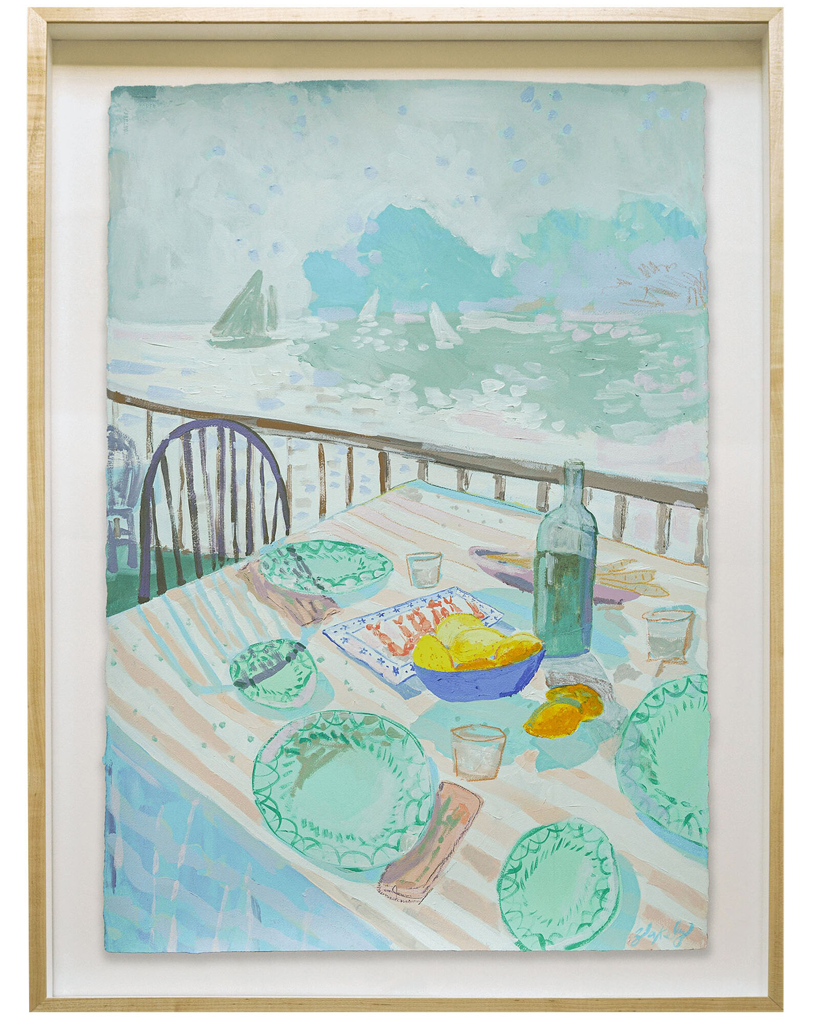 """""""Lunch in Capri"""" by Blakely Made,"""